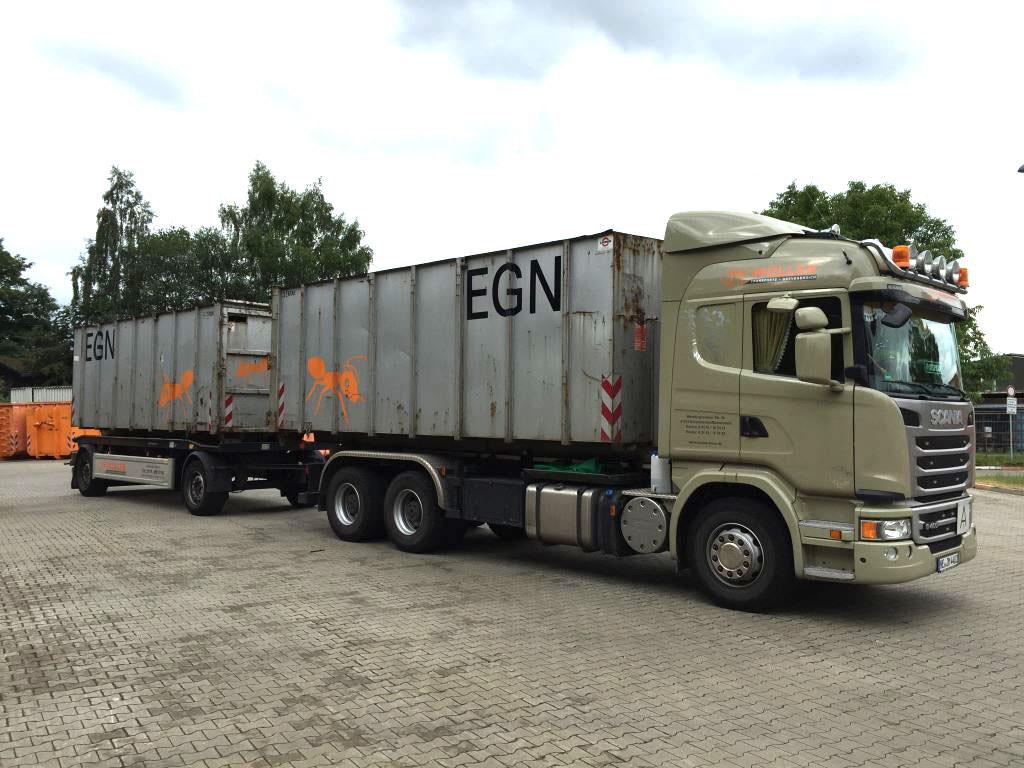 Müller Transporte - Gewerbliche Containertransporte und Containergestellung
