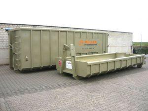 Containervermietung und Containerverleih - Abrollcontainer