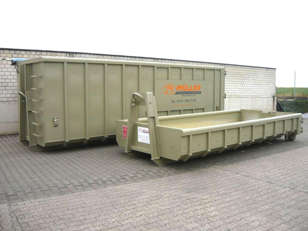 Containerverleih und Containervermietung aus Grevenbroich (bei Neuss)