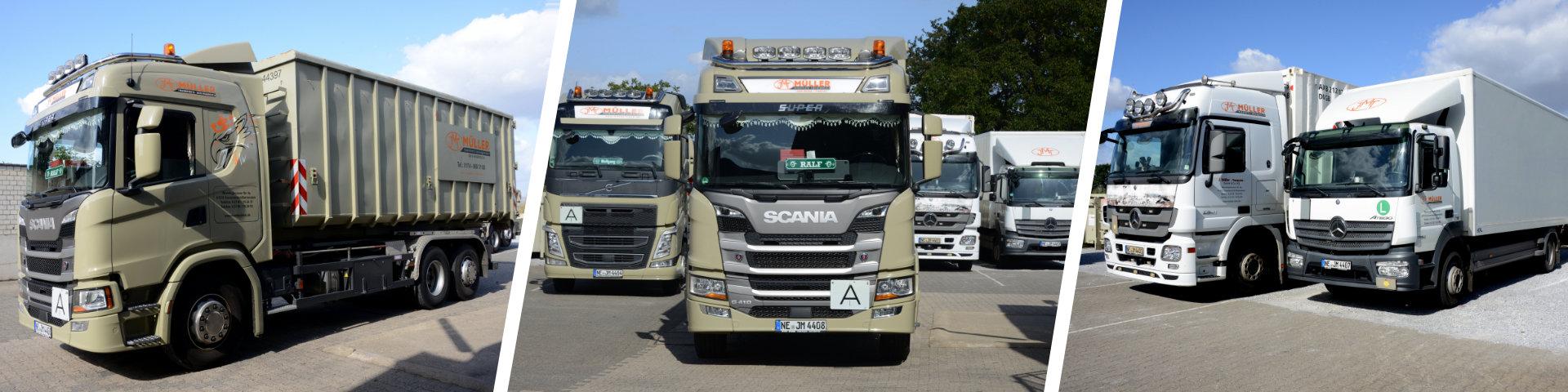 Containertransporte, Containerverleih (Orivat und Gewerbe), Ensorgung - aus Grevenbroich bei Neuss