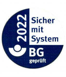 Sicher mit System 2020 - BG geprüft
